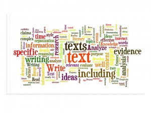 Wordle CCSS anchor standards
